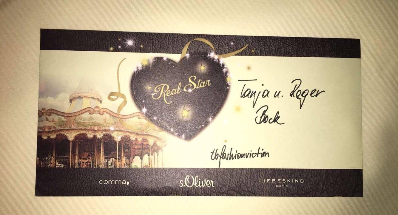 Einladung S. Olvier Real Stars
