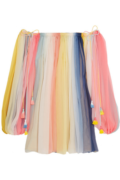 Rainbow Dress Chloé Real vs. Steal