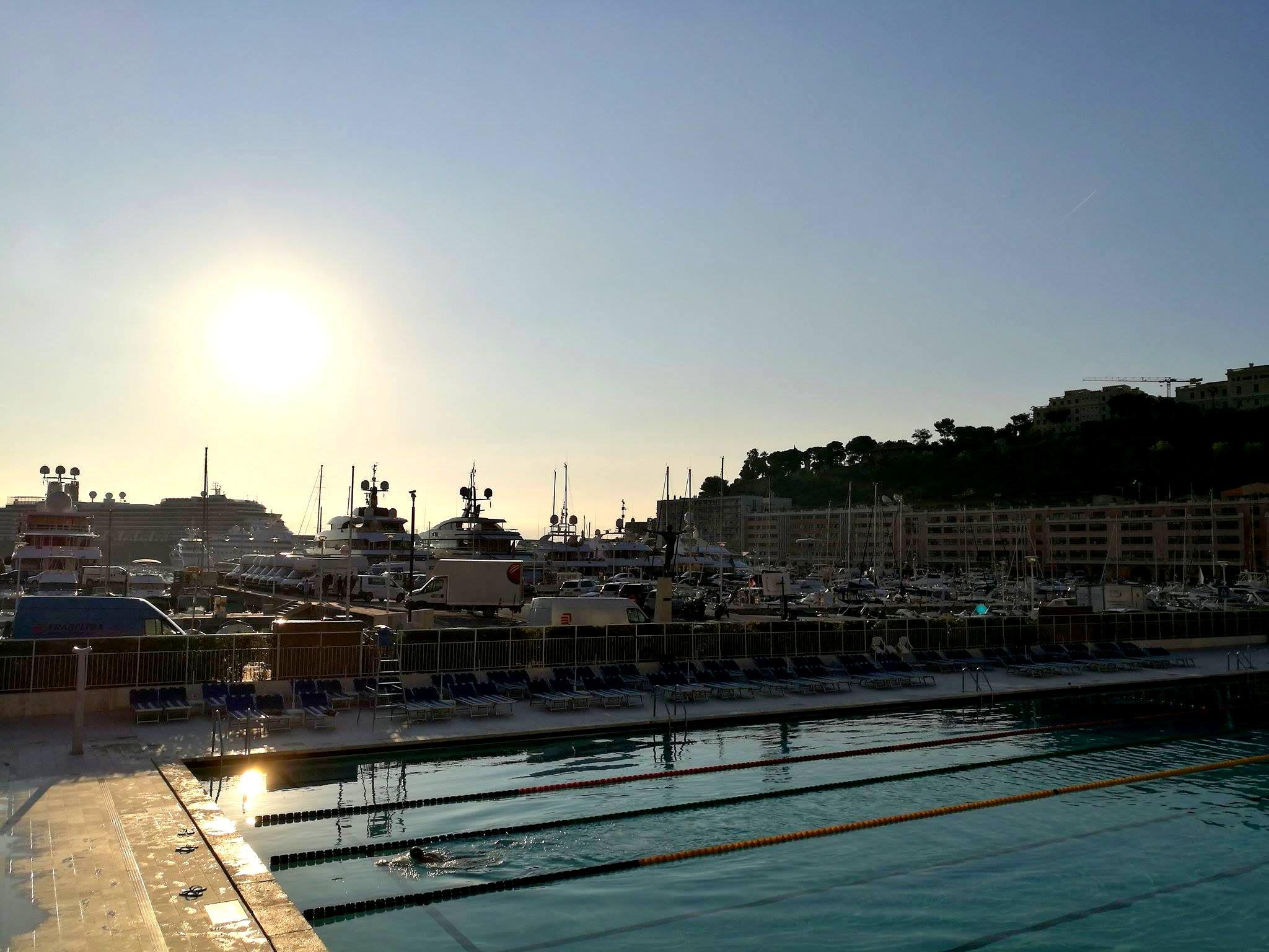 Yacht Hafen Monaco