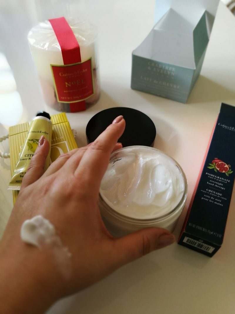 Crabtree & Evelyn, Comforting Body Cream Goatmilk