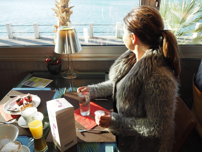 DrSlym beim Frühstück