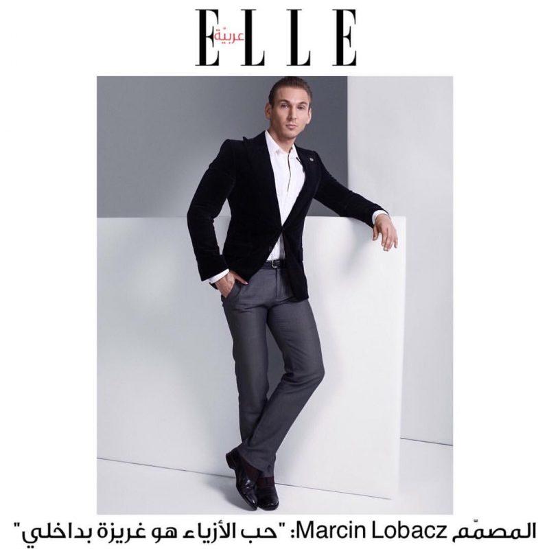 Marcin Lobacz by Elle Arabia, photo: Andrew Hiles | andrewhiles.com - grooming: Natasha Lakic | natashalakic.com