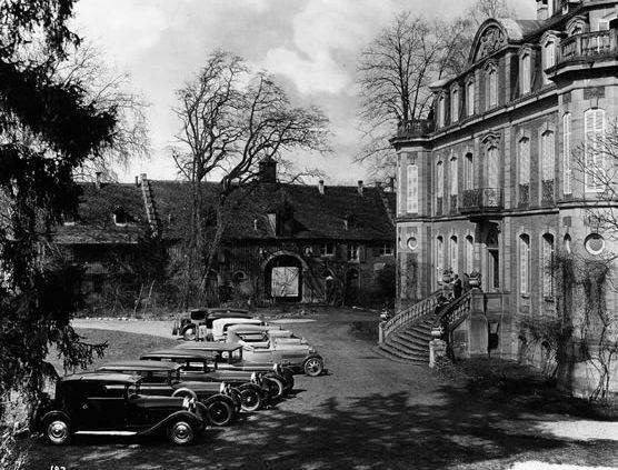 Bugatti Sitz, Molsheim Elsass