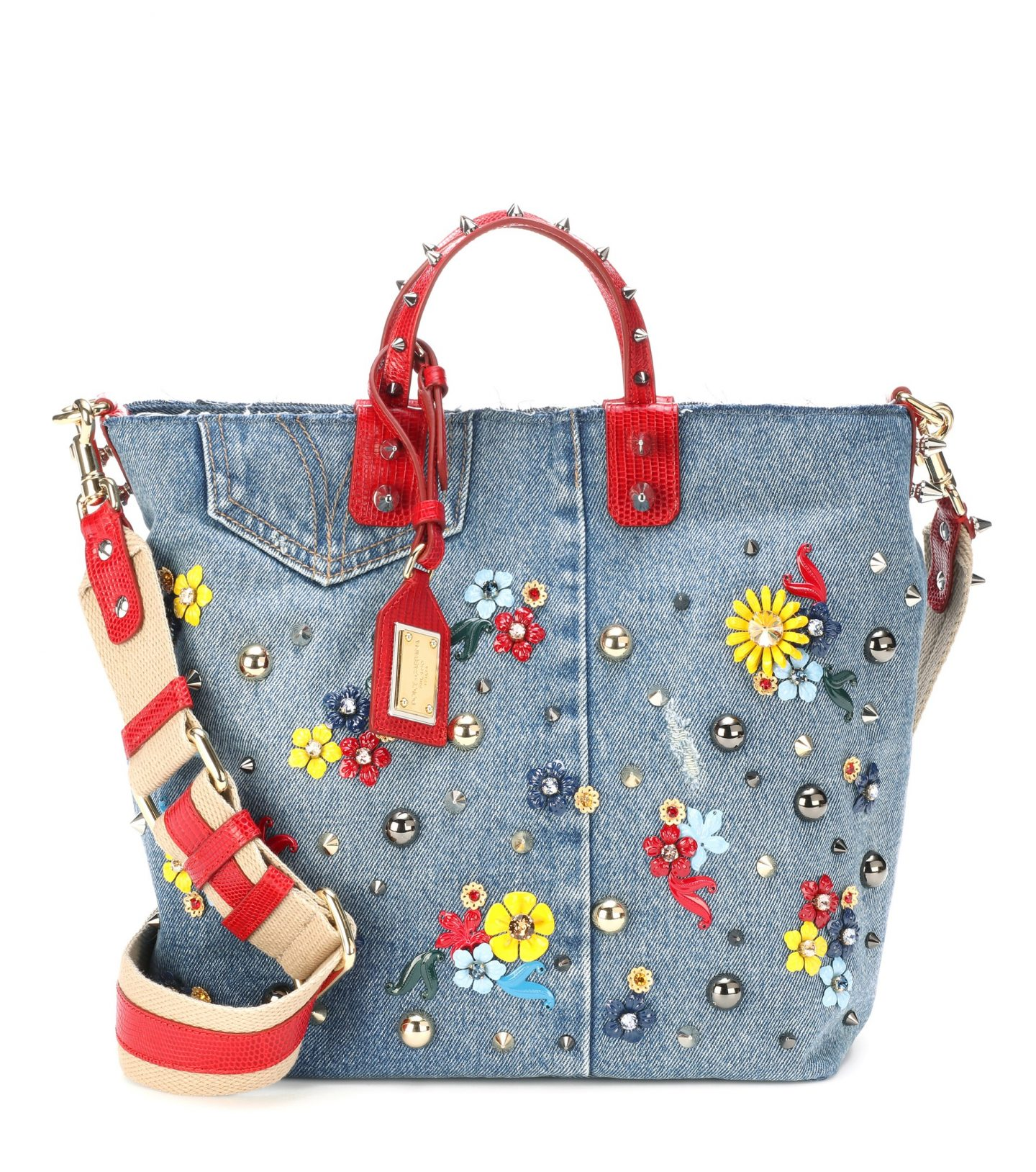 DOLCE_GABBANA Shopper Beatrice Denim