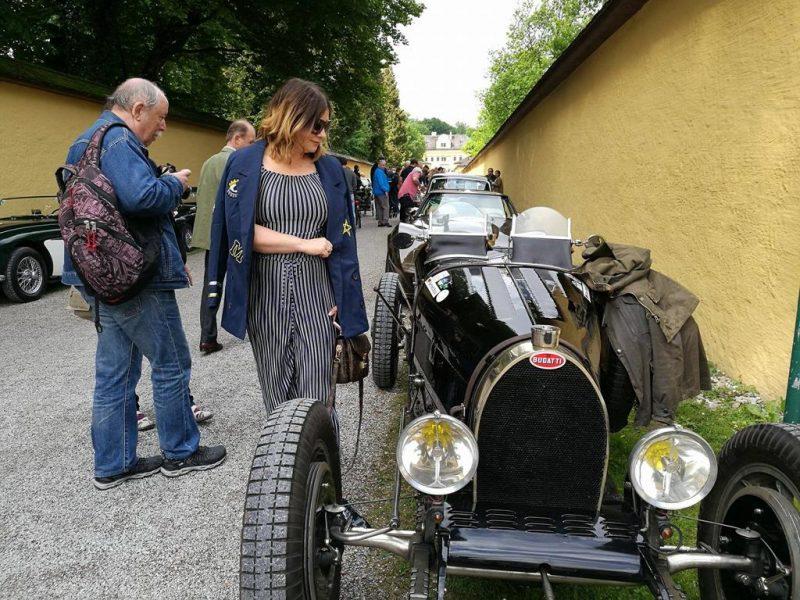 Gaisbergrennen für historische Automobile, Schloss Hellbrunn
