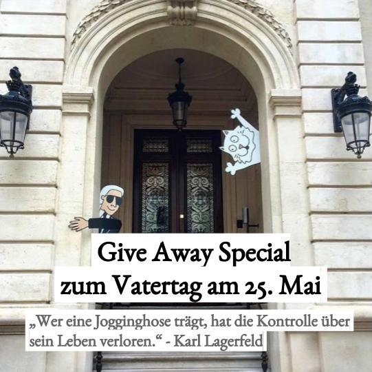 Give Away Special zum Vatertag