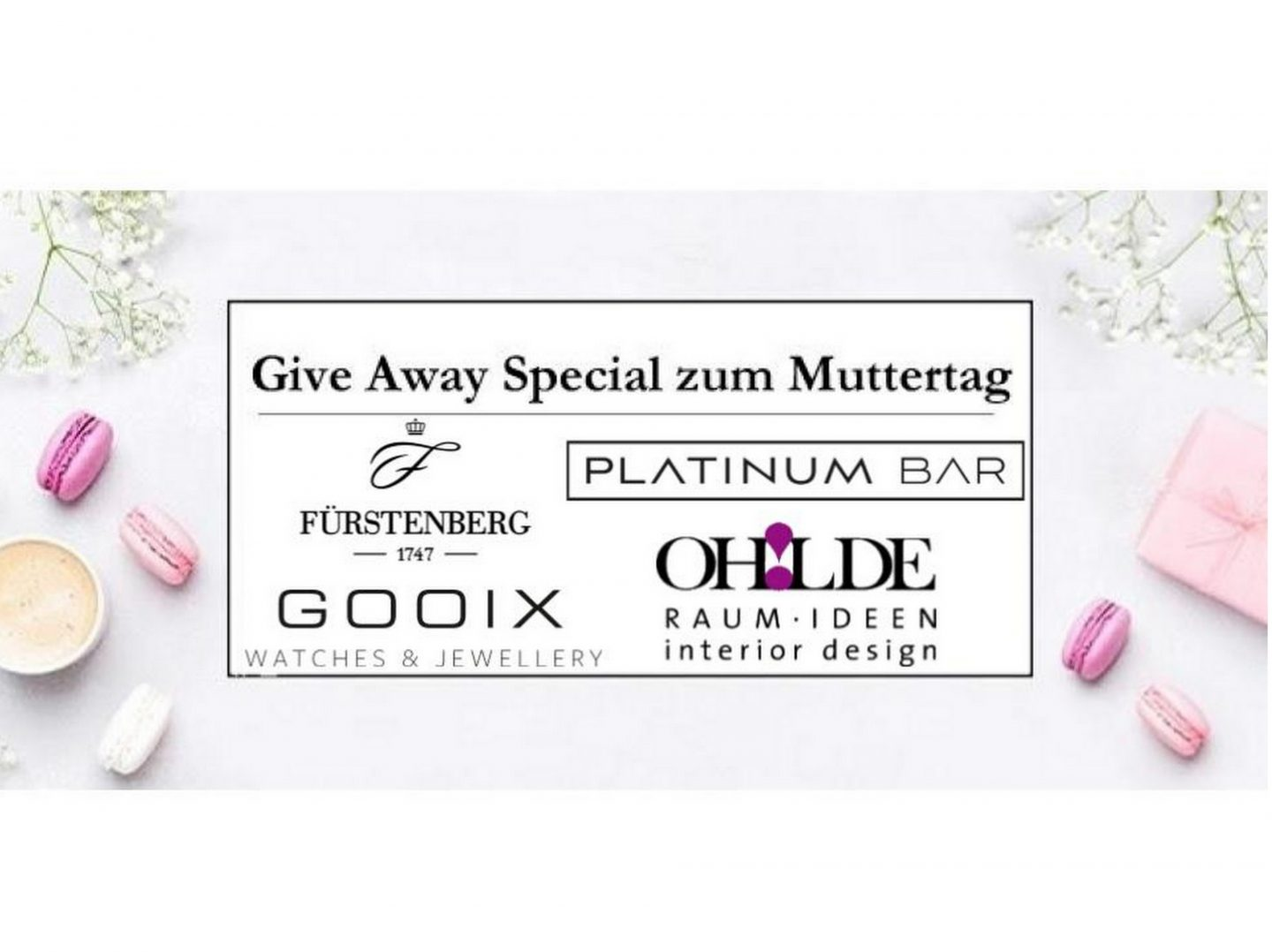 Give Away Special zum Muttertag
