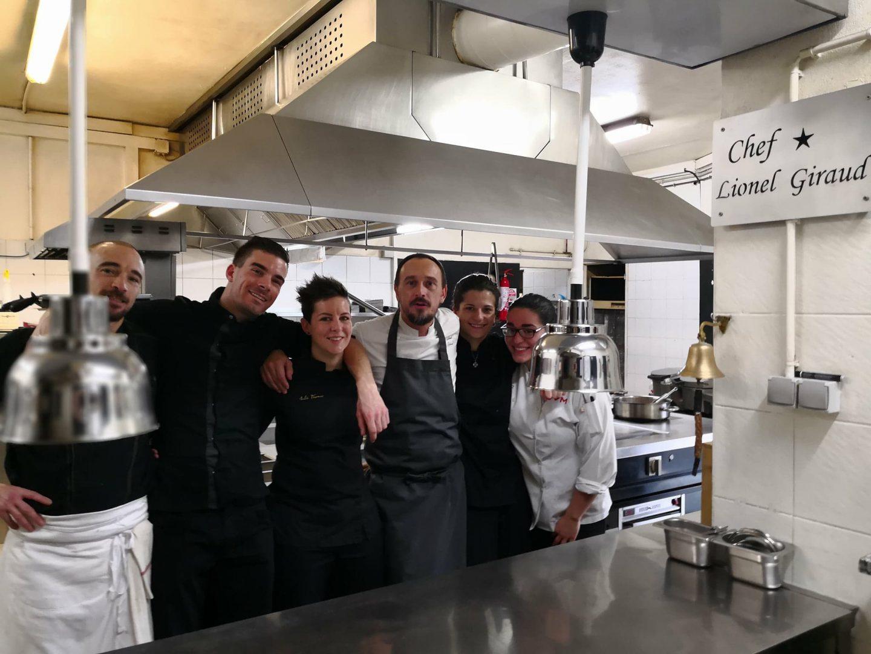Das Team La Table Saint Crescent