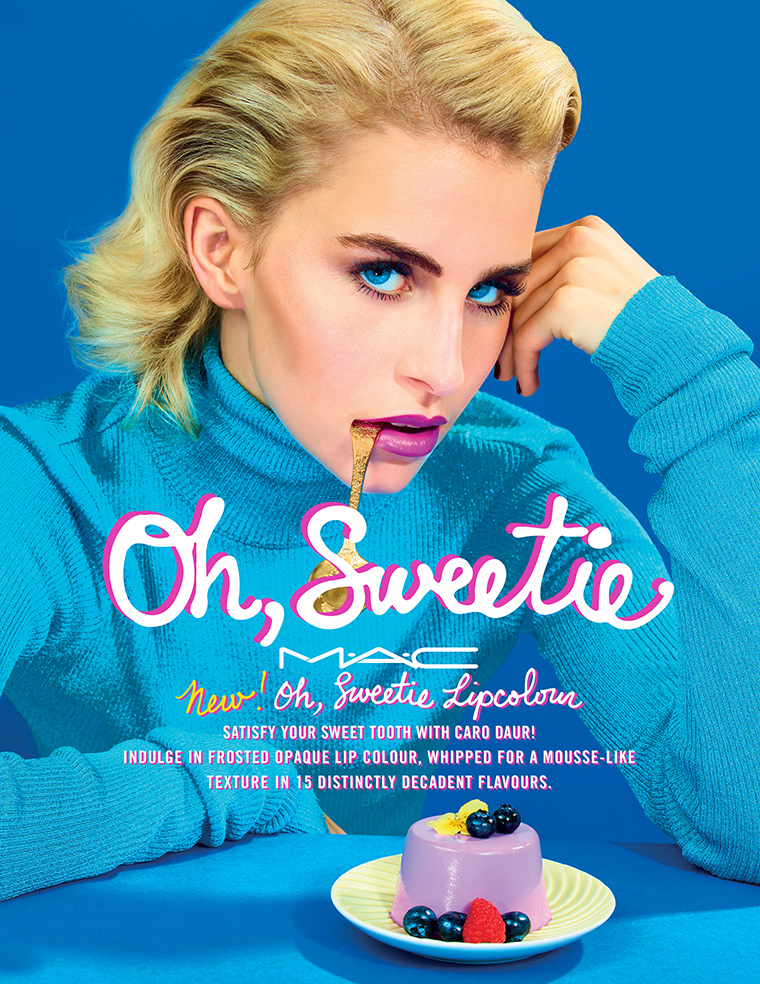 Oh, Sweetie Lipcolour with Caro Daur