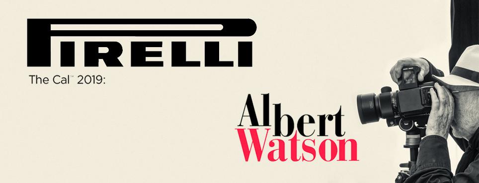Interview ALBERT WATSON, PIRELLI-KALENDER 2019